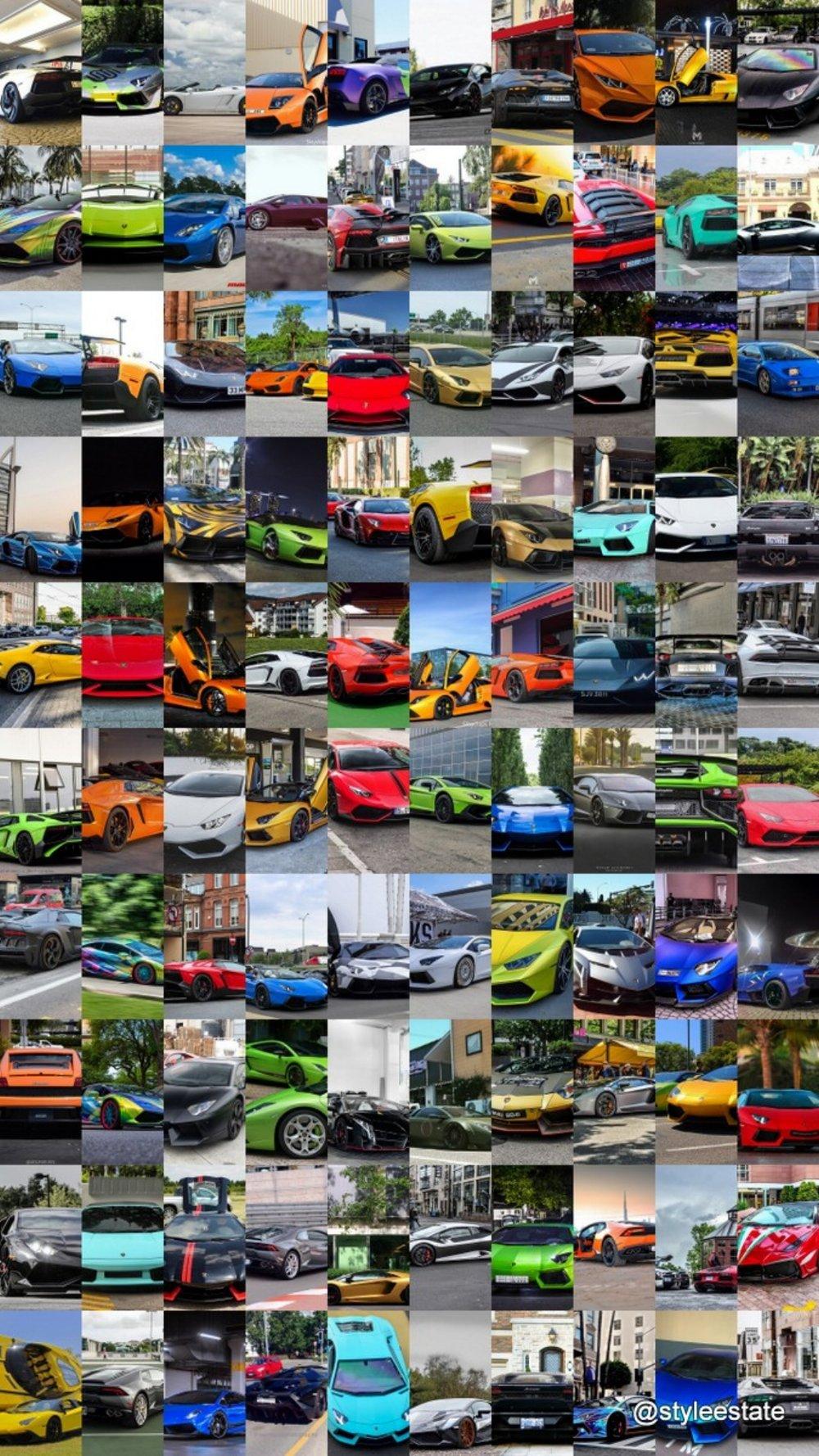 100 Insane Lamborghini Supercars From Instagram