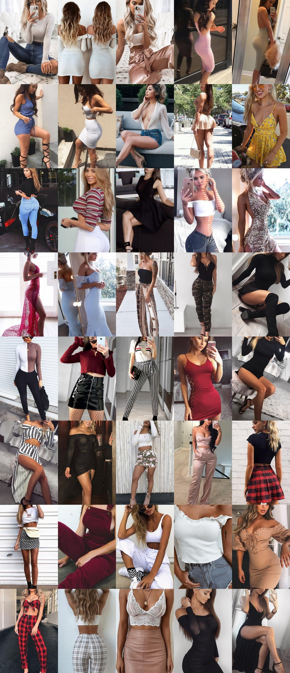 40 Ultra Popular Spring Outfits From The Gram