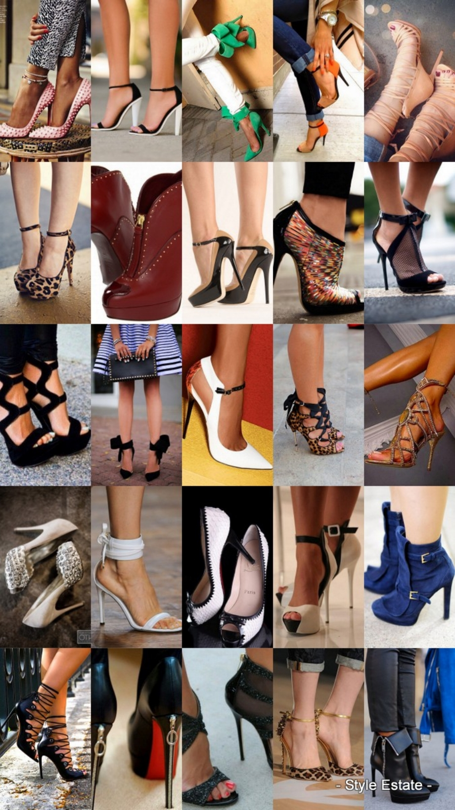 25 High Fashion High Heels on the Street that You Absolutely Must See - Style Estate => #IfTheShoeFits