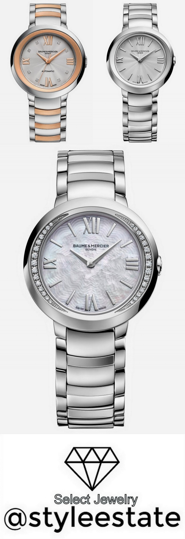 Baume & Mercier: First Ladies Watch Collection in 10+ Years