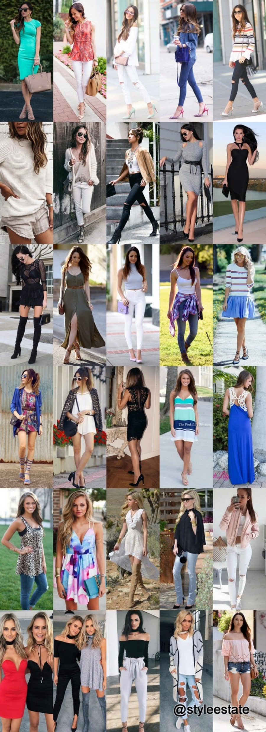 What's Trending - 30 Outfits (S/S) 2016