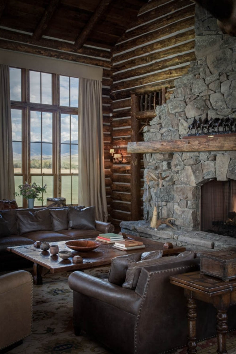R-R Ranch -- Lodge by Miller Architects - Style Estate - #AtTheLodge