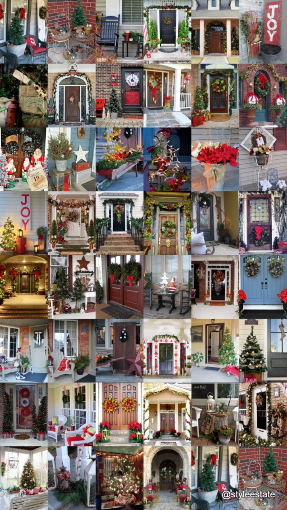 46 Beautiful Christmas Porch Decorating Ideas