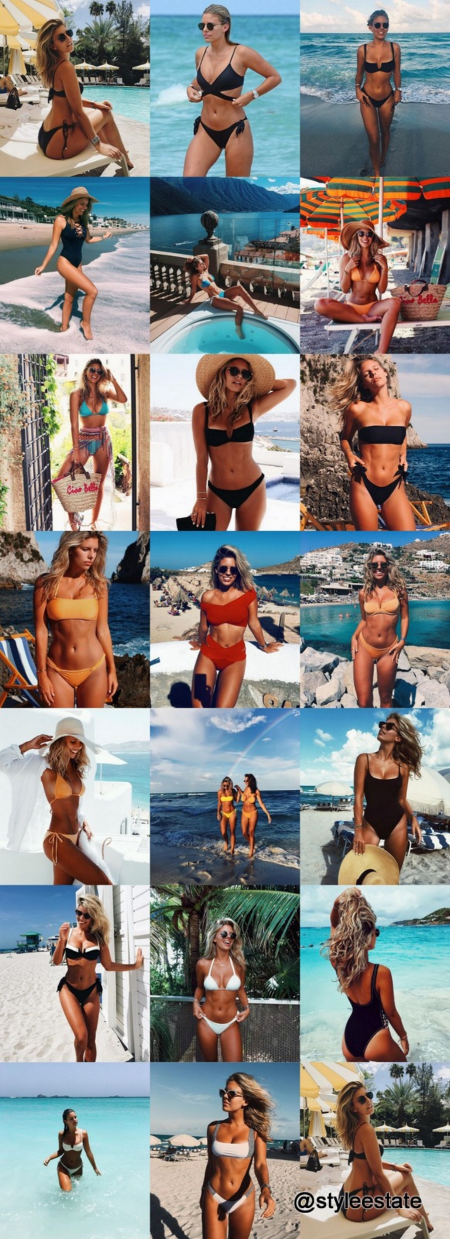 @tashoakley's Top 20 Bikinis & Swimsuits ft. @mondayswimwear 2016