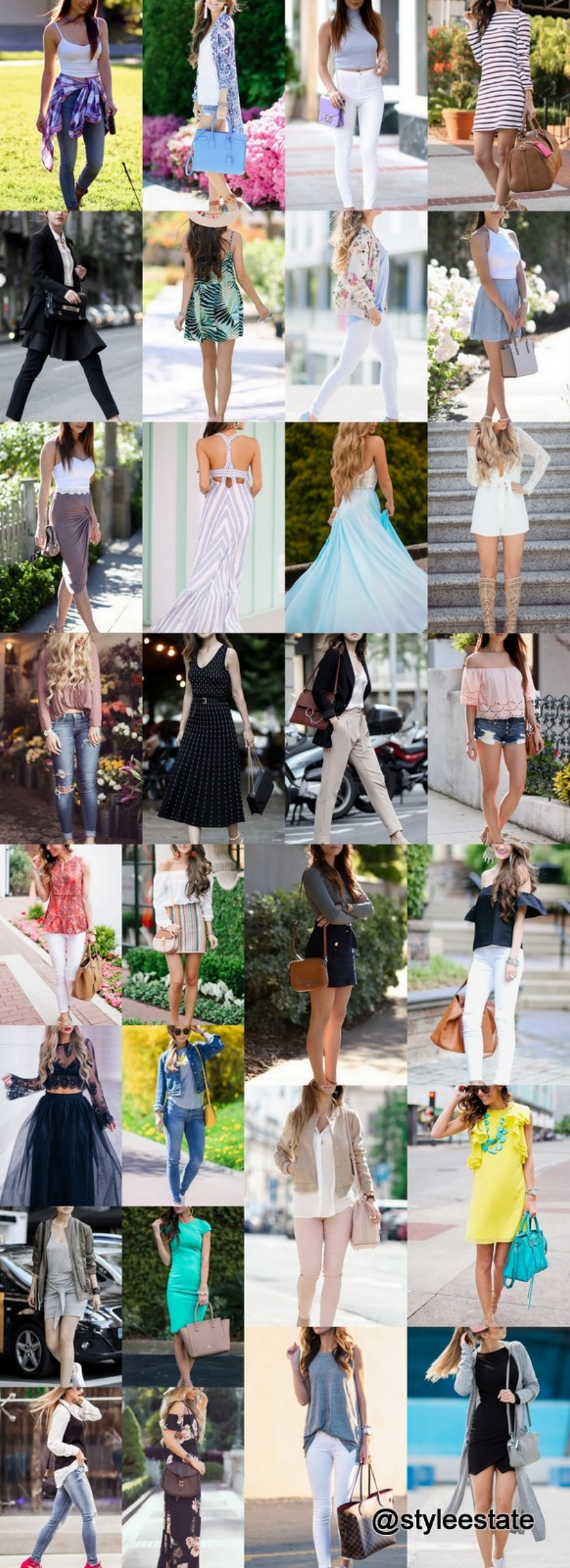 What's Trending📈🆙 31 Outfits (Spring) 2017
