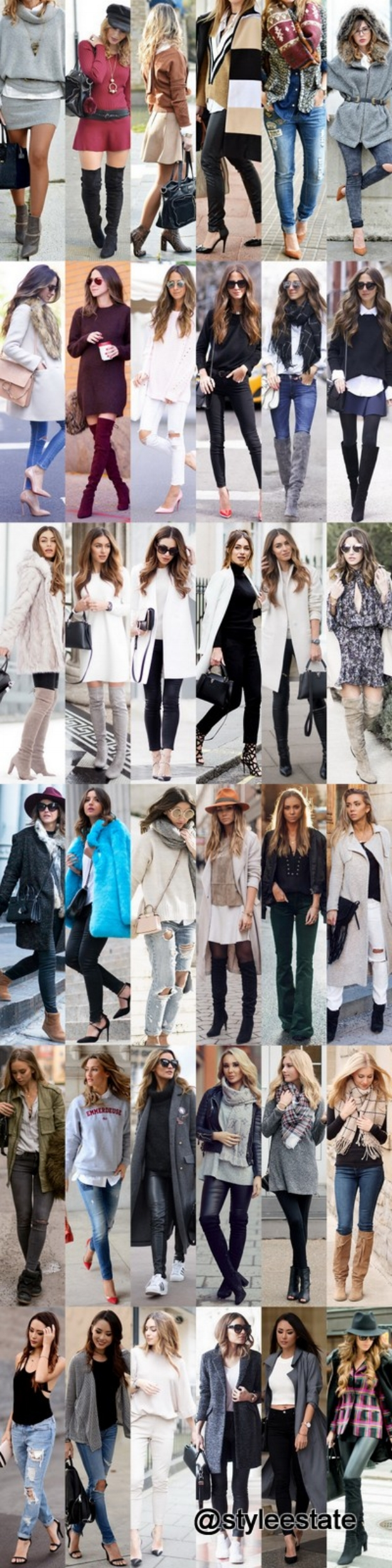 Fashion Trends Daily  - Winter Outfit Inspiration 2016 @styleestate