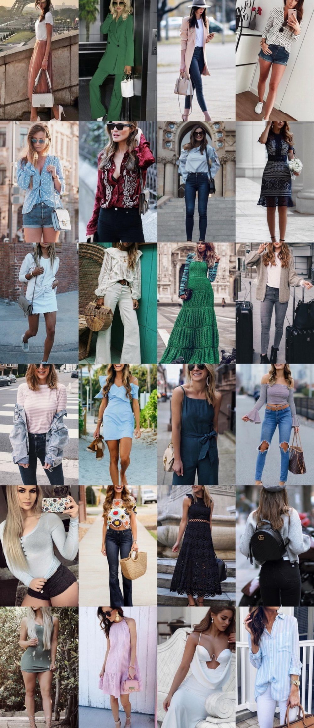 24 Cute Spring Street Style Outfits To Copy