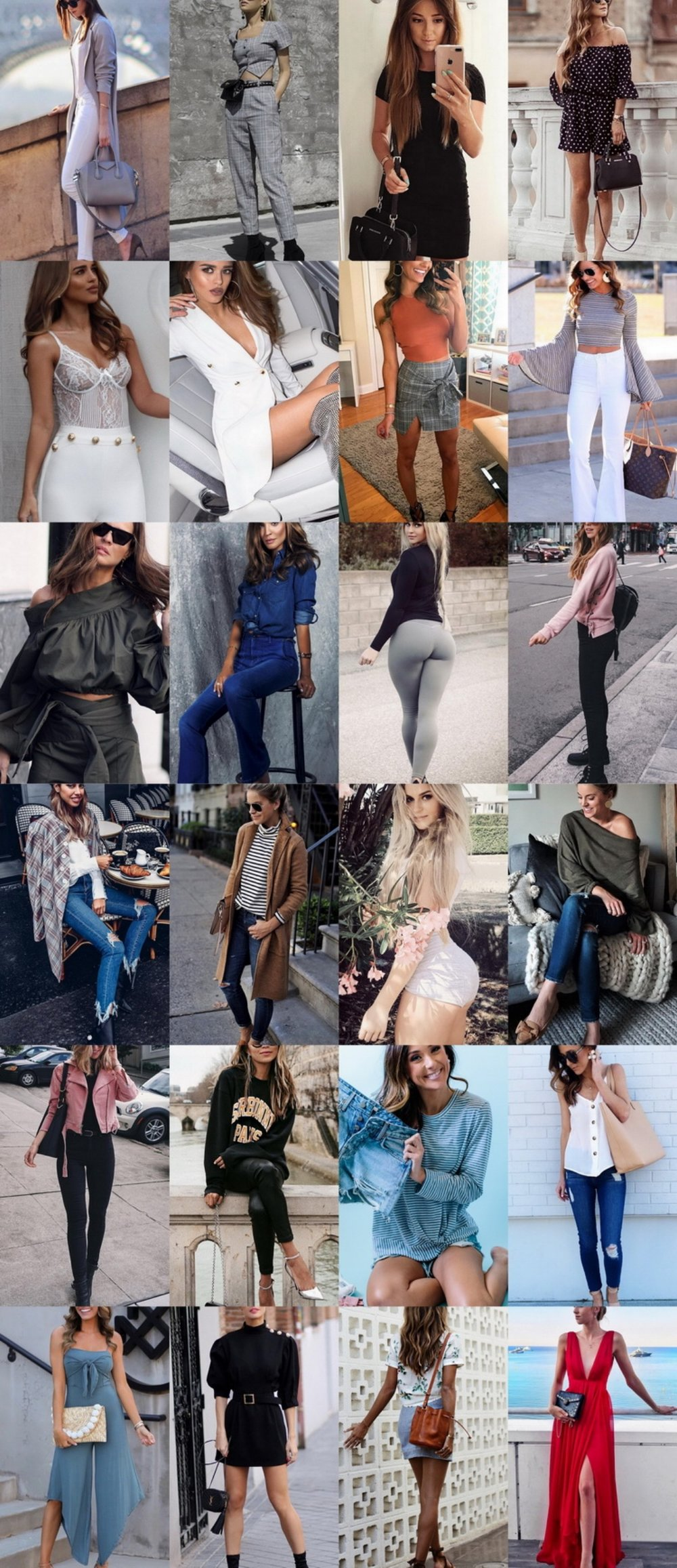 24 Cute Street Style Outfits I Must Have Soon