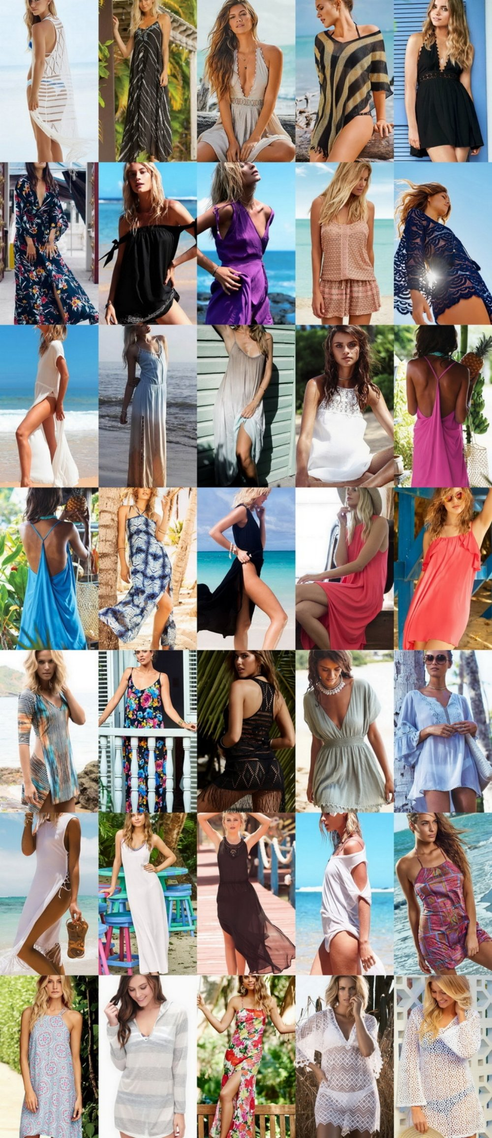 35 Beach Style Dresses I Want For Summer