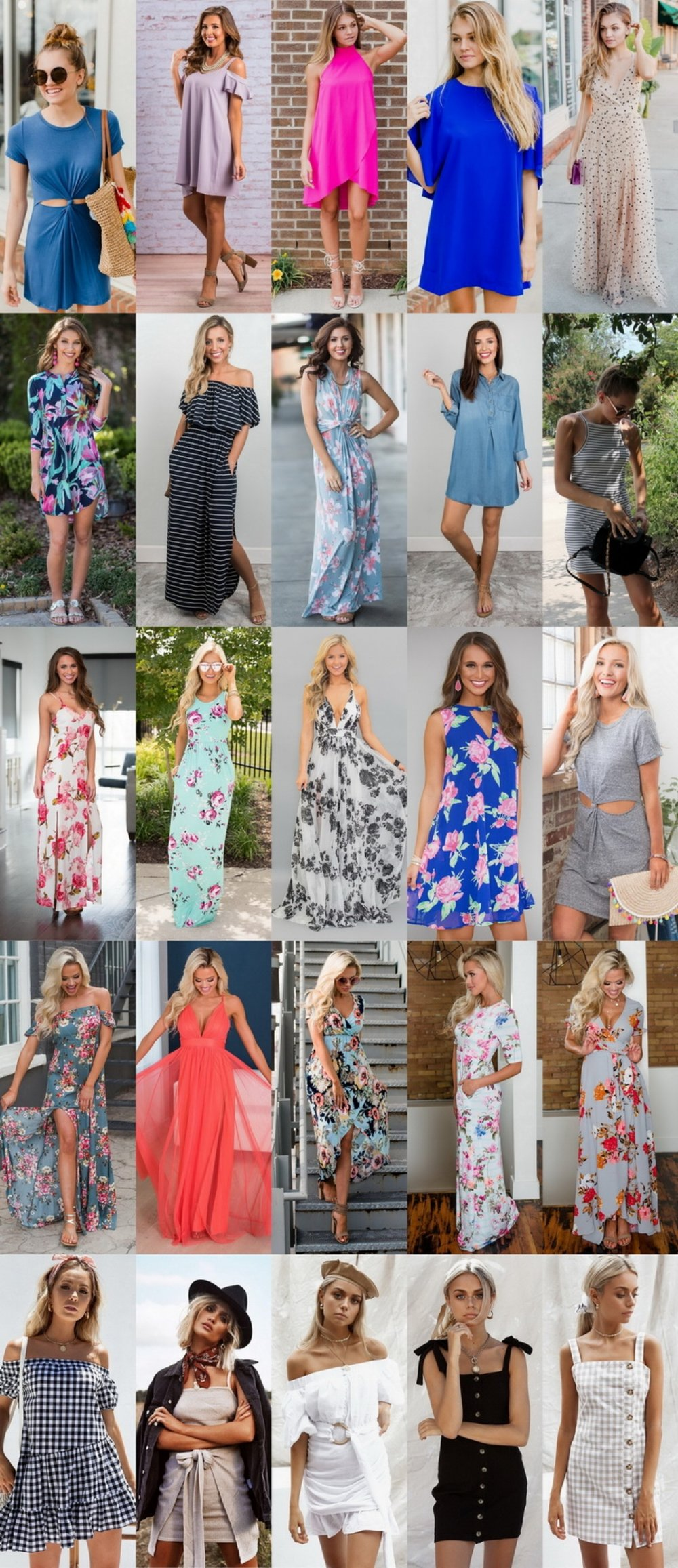 25 Dresses I Have My Eyes On RN