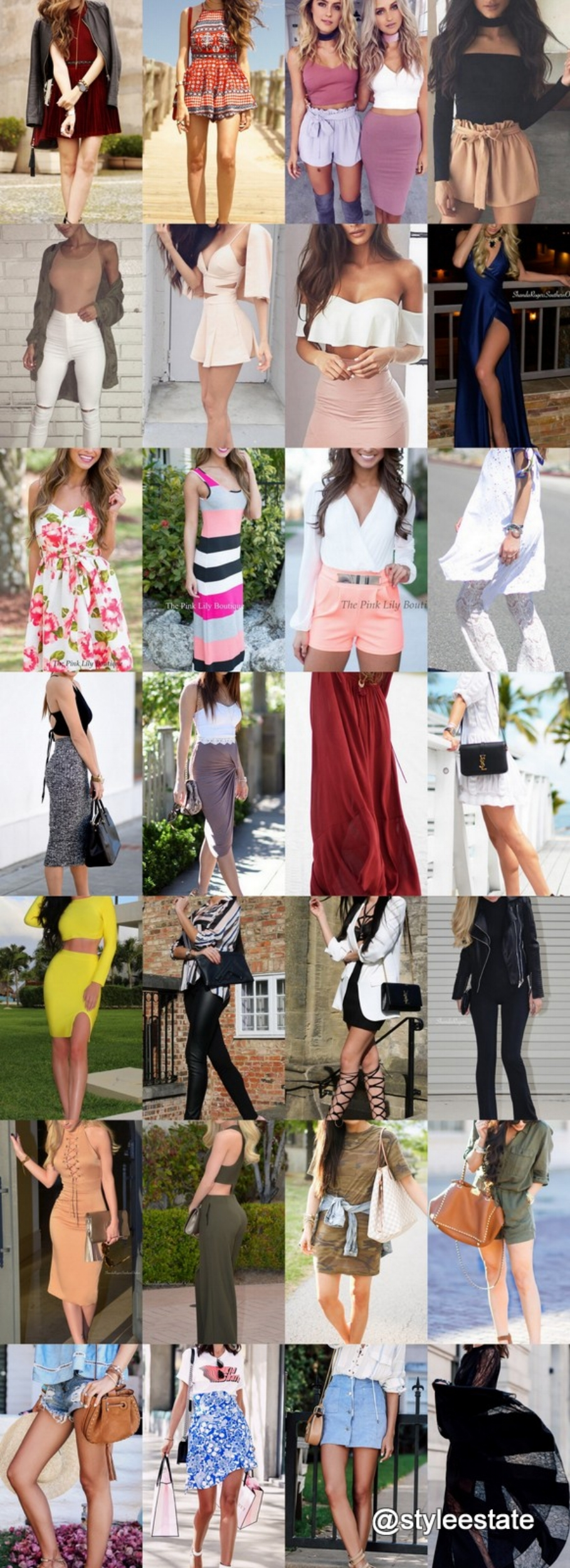 What's Trending - 28 Outfits (S/S) 2016