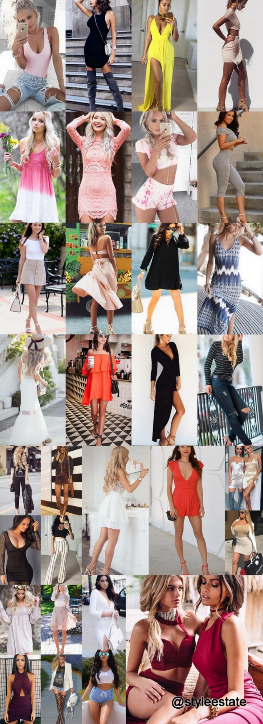 What's Trending - 31 Outfits (S/S) 2016