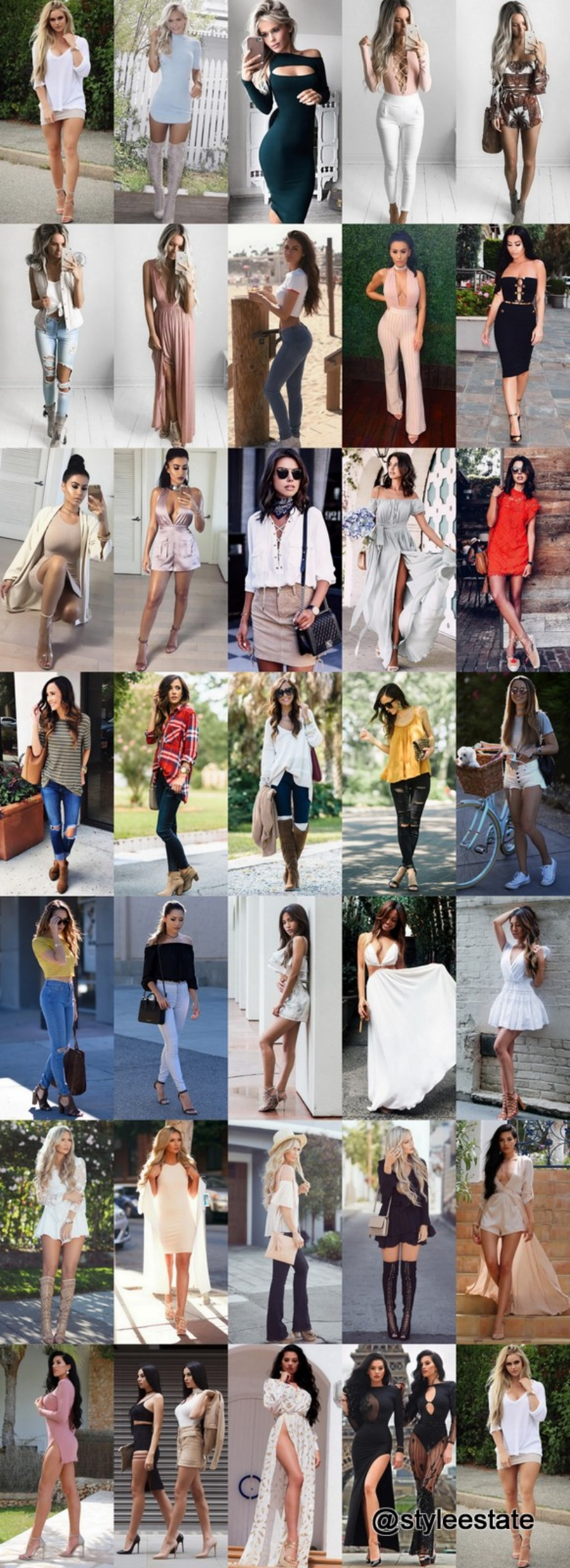 What's Trending - 34 Outfits (Summer) 2016