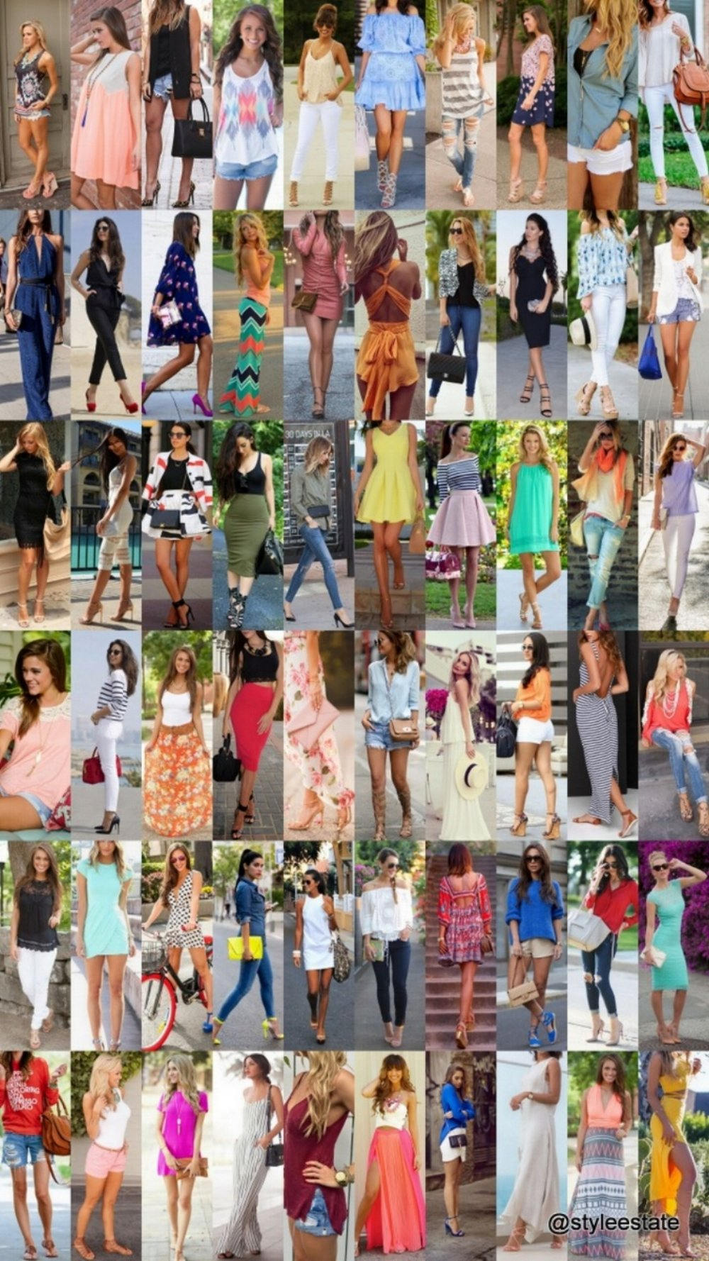 60 Great Summer Outfits On The Street 2015