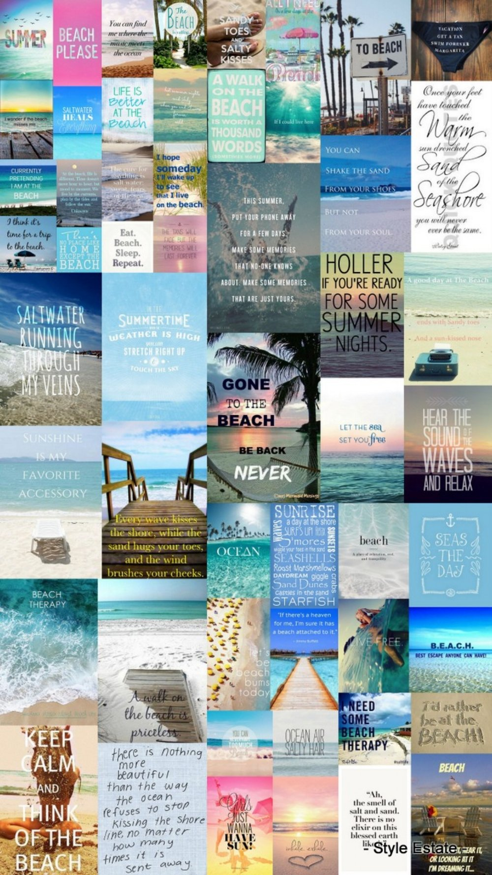 50 Warm and Sunny Beach Therapy Quotes - Style Estate -
