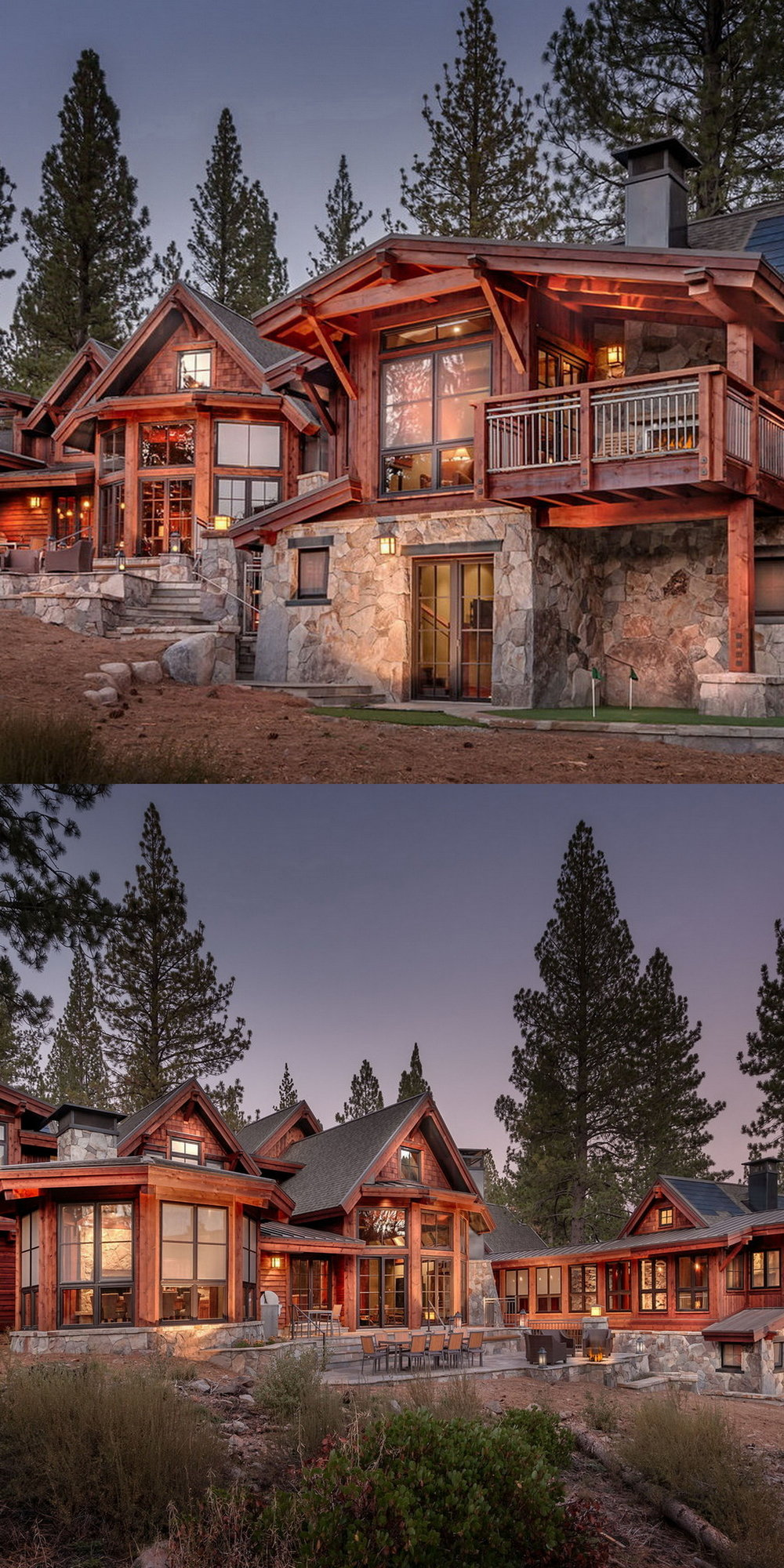 Martis Camp Lot 376:  8650 sf 6 bedroom 6 and 2 1/2 bath estate