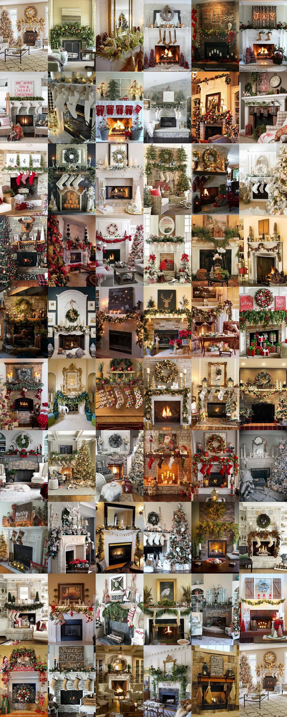 🎁 60 Drop Dead Gorgeous Christmas Mantle Decorating Ideas