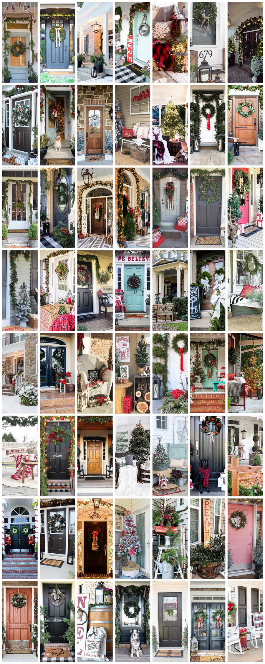 55 Magical Christmas Front Porch Ideas Decked With Holiday Style By Your Favorite Bloggers