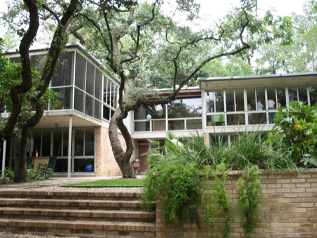 Charles Granger house (1952)  Photo:  Stephanie Jones, Austin Chronicle