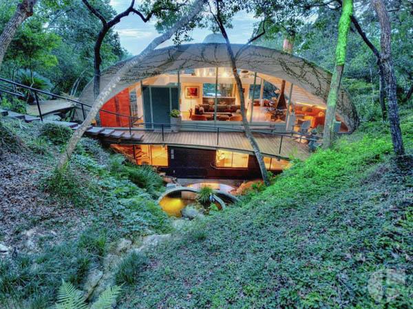 504 Spiller Grotto Dome House John Watson Designer