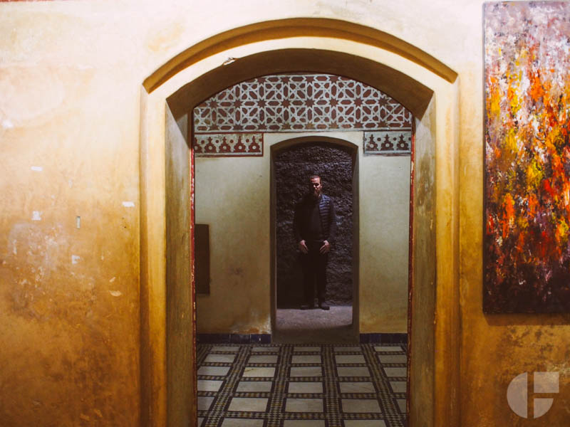 Inside the  Museum de Marrakech