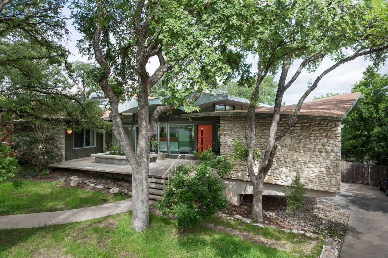 Butterfly House by A. D. Stenger : photo via Preservation Austin