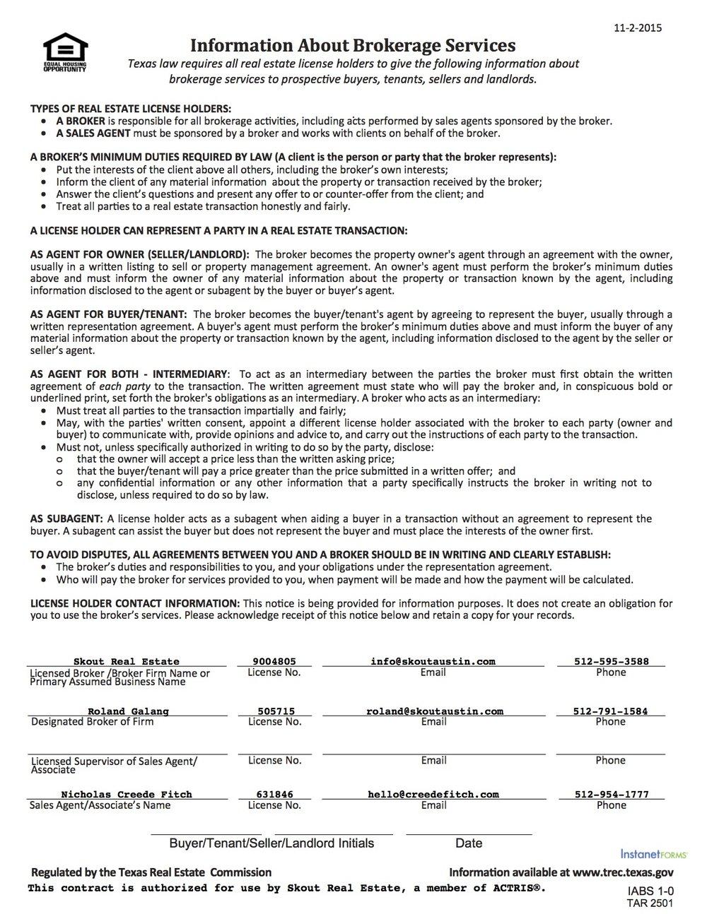 Information About Brokerage Services (TAR-2501).jpg