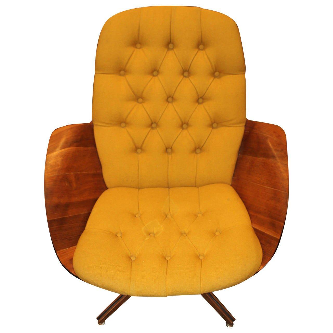 Fine Swivel Lounge Chair By George Mulhauser For Plycraft Designer Austin Tx Realtor Ibusinesslaw Wood Chair Design Ideas Ibusinesslaworg