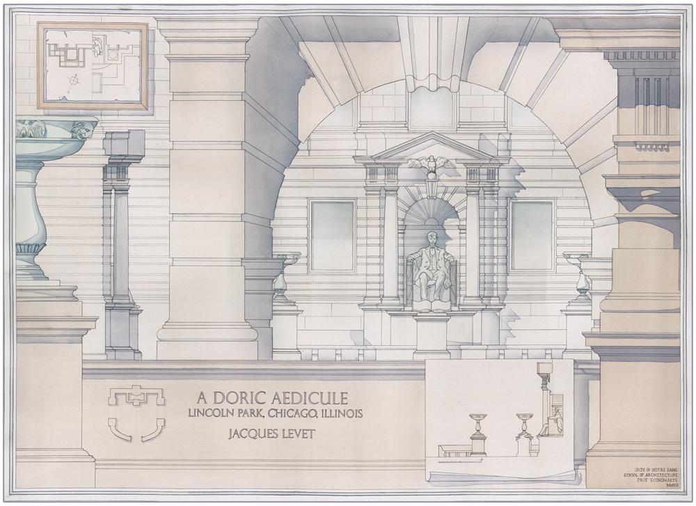 A Proposed Doric Aedicule