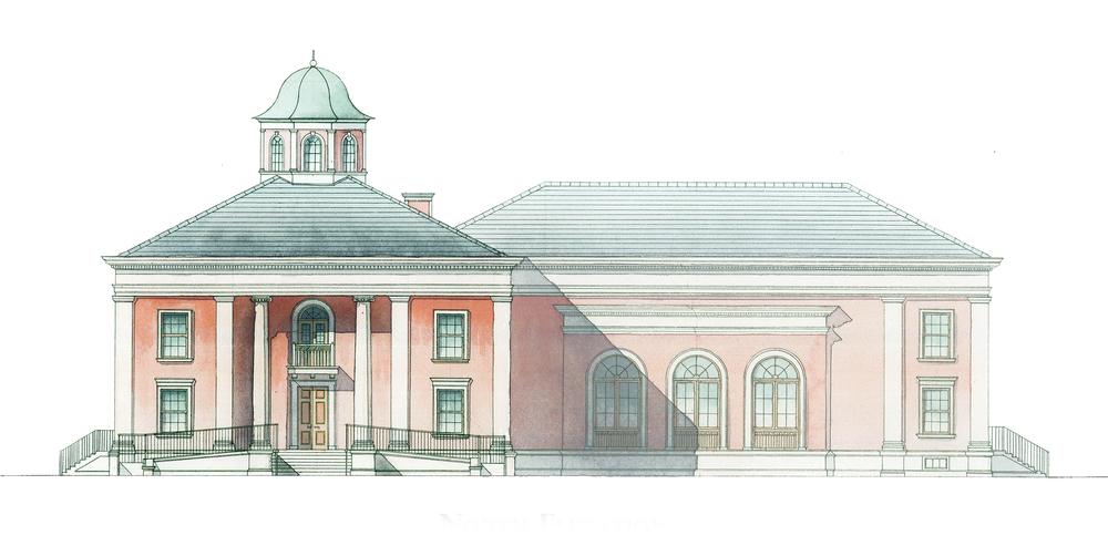 Proposed Campus Building & Ceremonial Hall