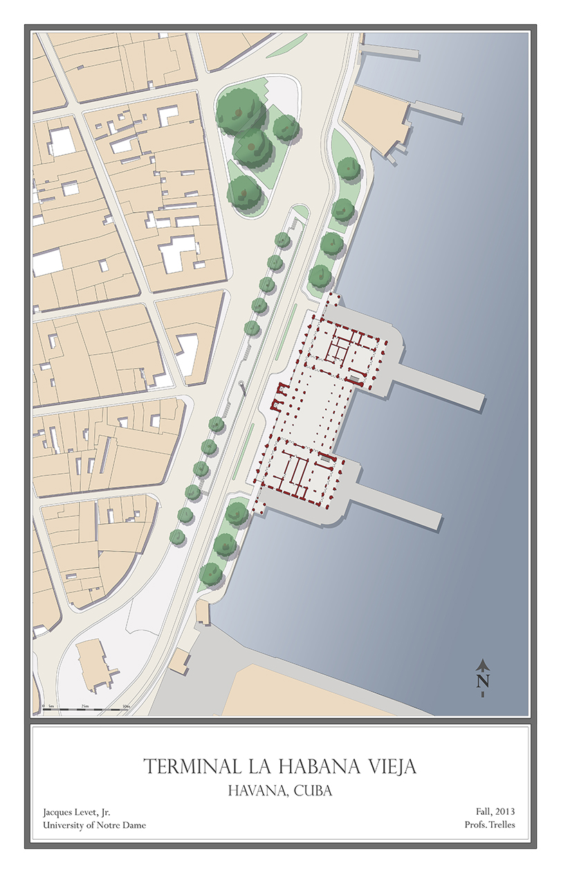 Terminal La Habana Vieja - Site Plan