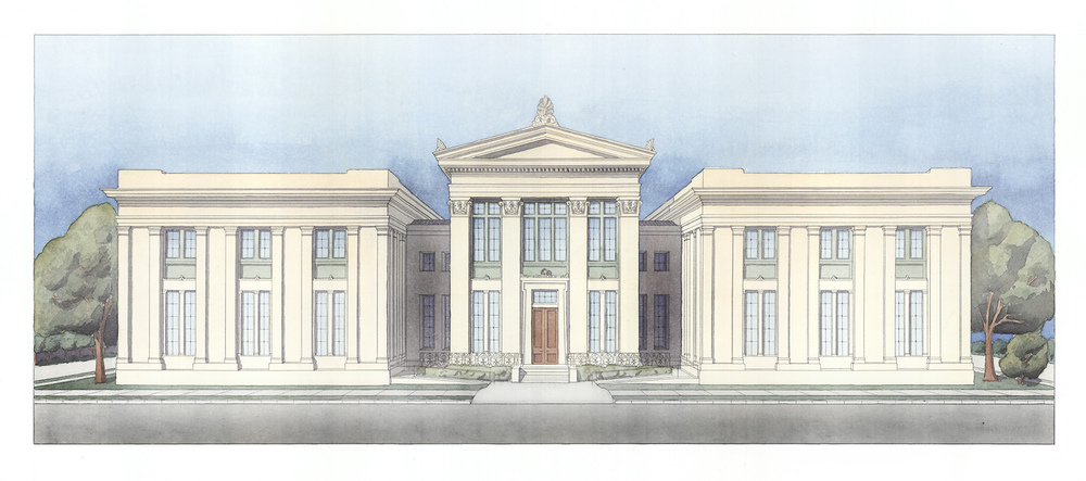 Proposed Center for Grecian Studies
