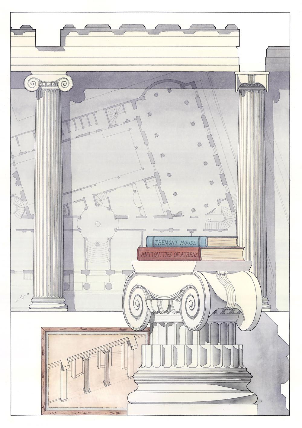 Ionics in Historic Tremont House