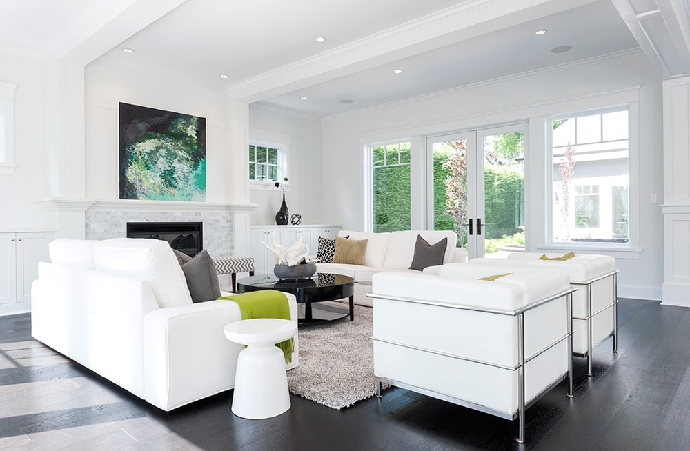 Kimberly Dean's artwork in Modern Home Victoria, August 2015 (Interior Design by Josée Lalonde)