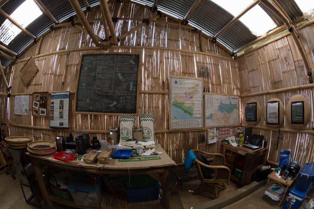 Bamboo Coffee Storage, Warehouse and Micro-Roasting Facility (Gudang Kopi)