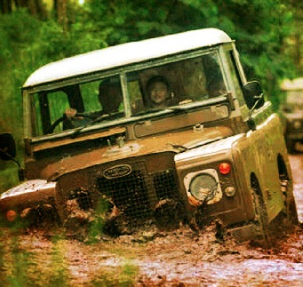 Ghani's Land Rover. Photo by Ghani