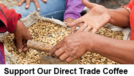 Support Our Direct Trade Coffee