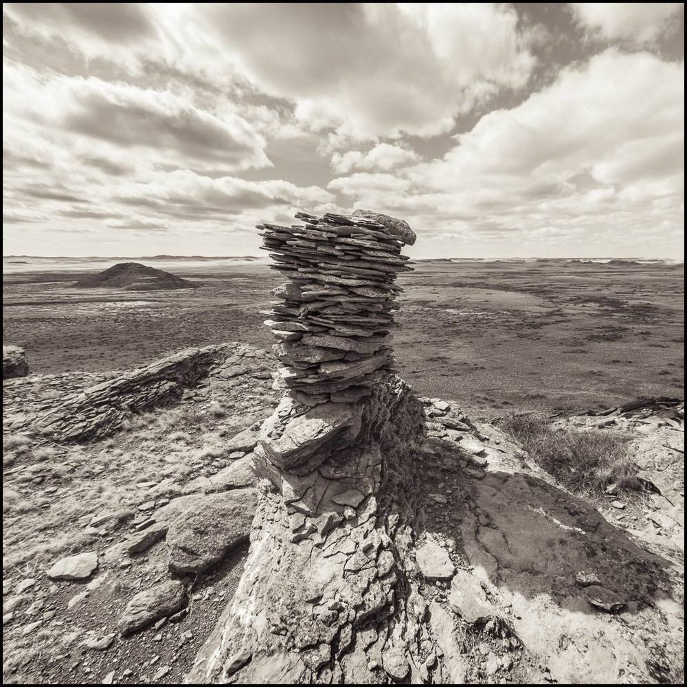 Sheep Cairn, Eastern Montana