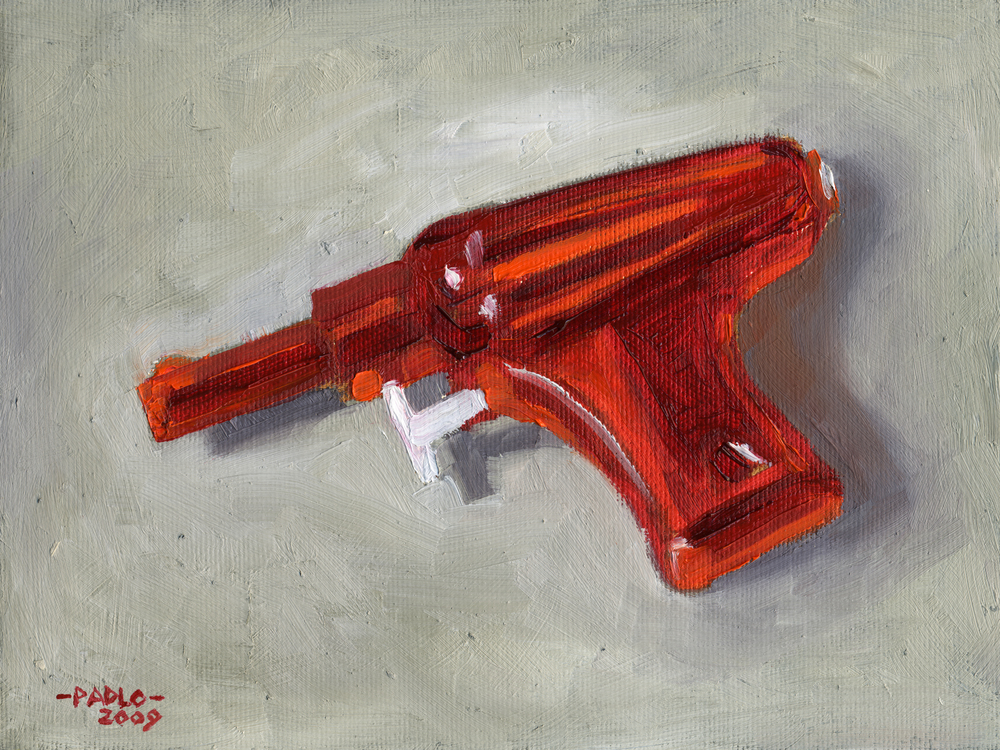 RED WATER GUN
