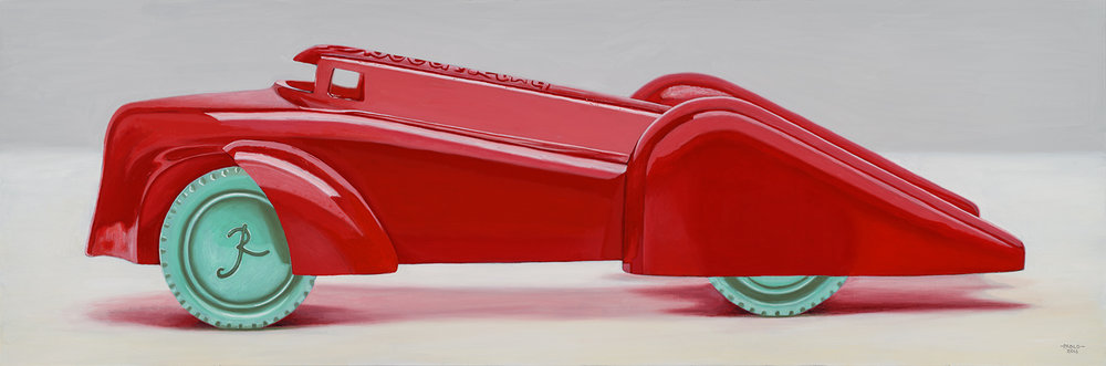 "John Padlo - Renwal 88 - Oil on canvas - 20""x60"""