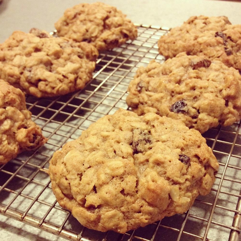 Chewy Oatmeal Raisin Cookies Recipe — Bites & Bourbon