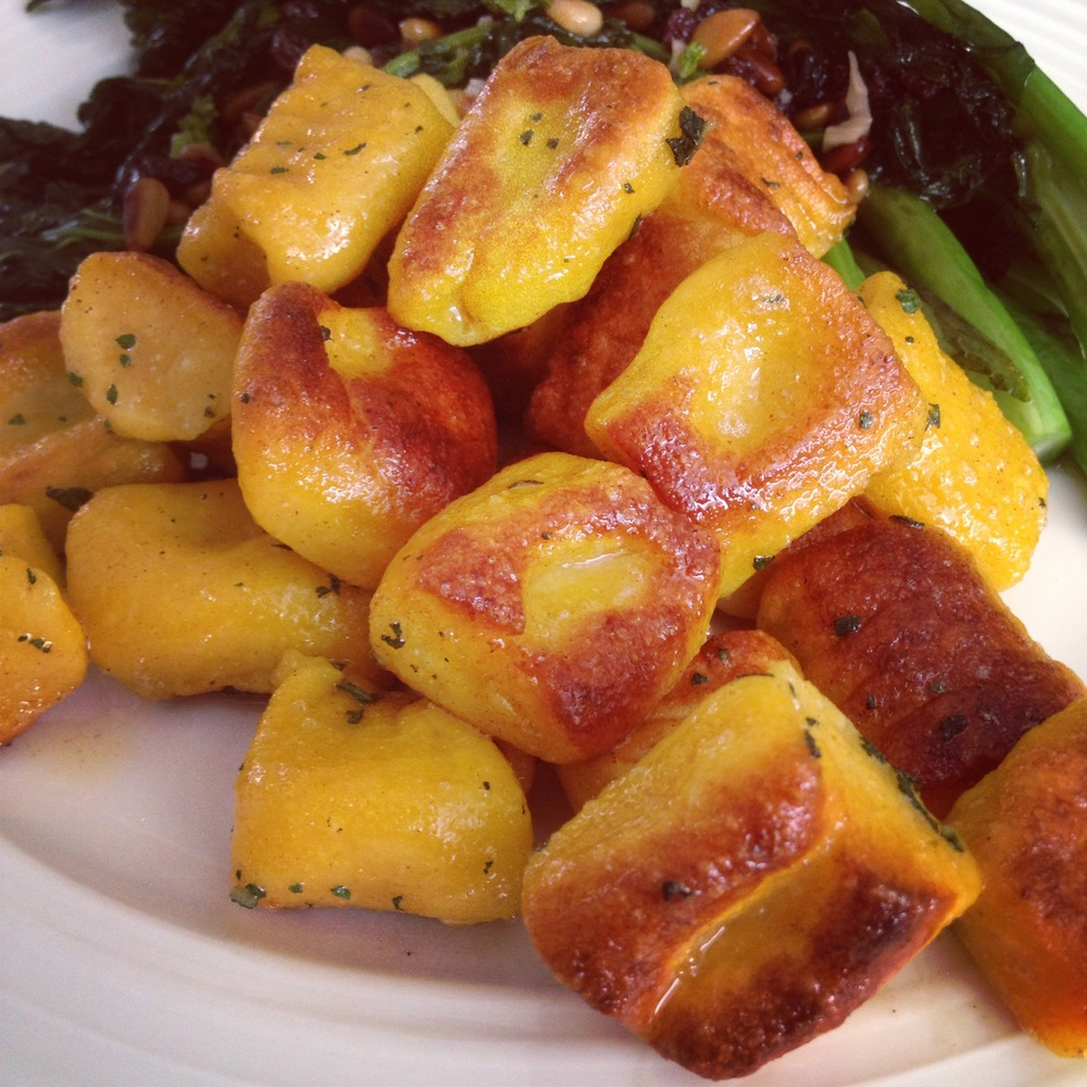 Pumpkin Ricotta Gnocchi with Brown Butter Sage Recipe & Video ...
