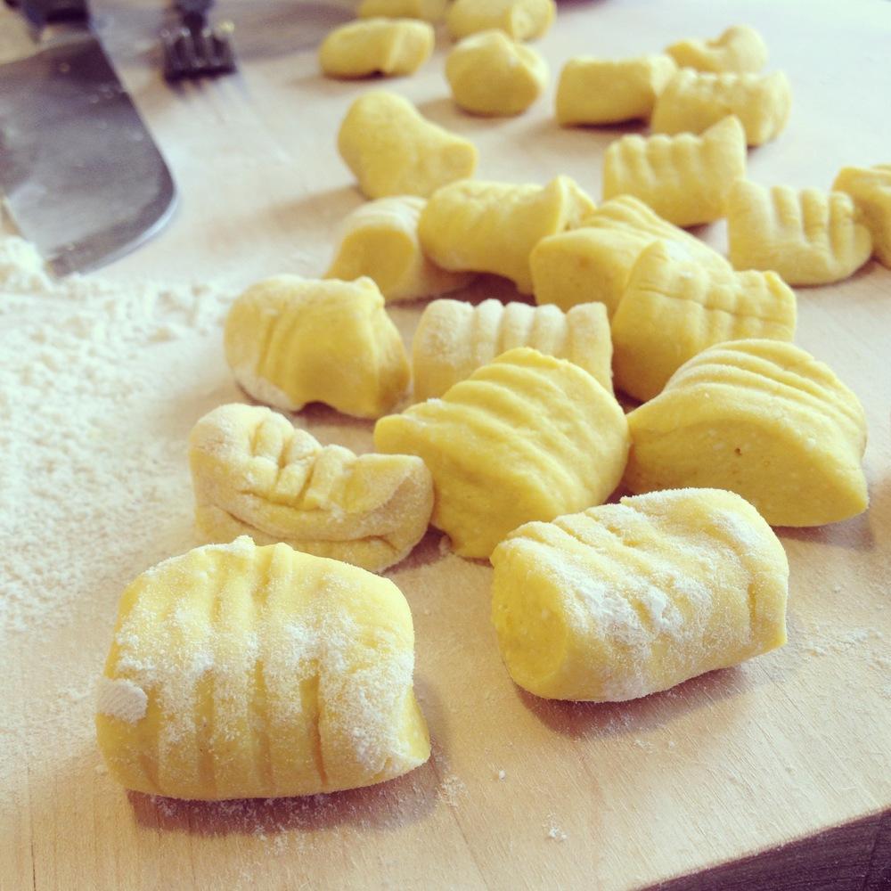 Pumpkin Ricotta Gnocchi with Brown Butter Sage Recipe ...