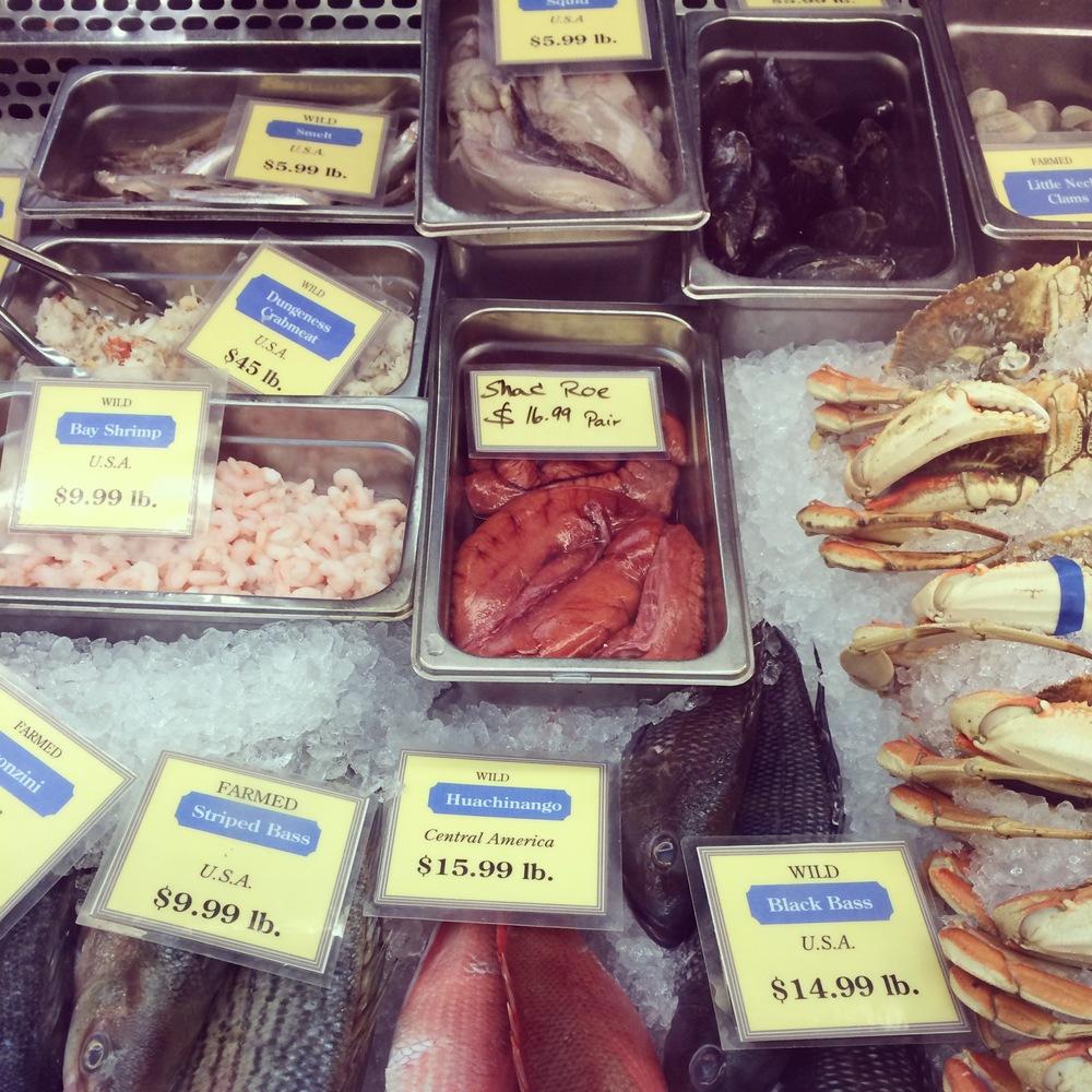 Shad Roe Fish Market SF