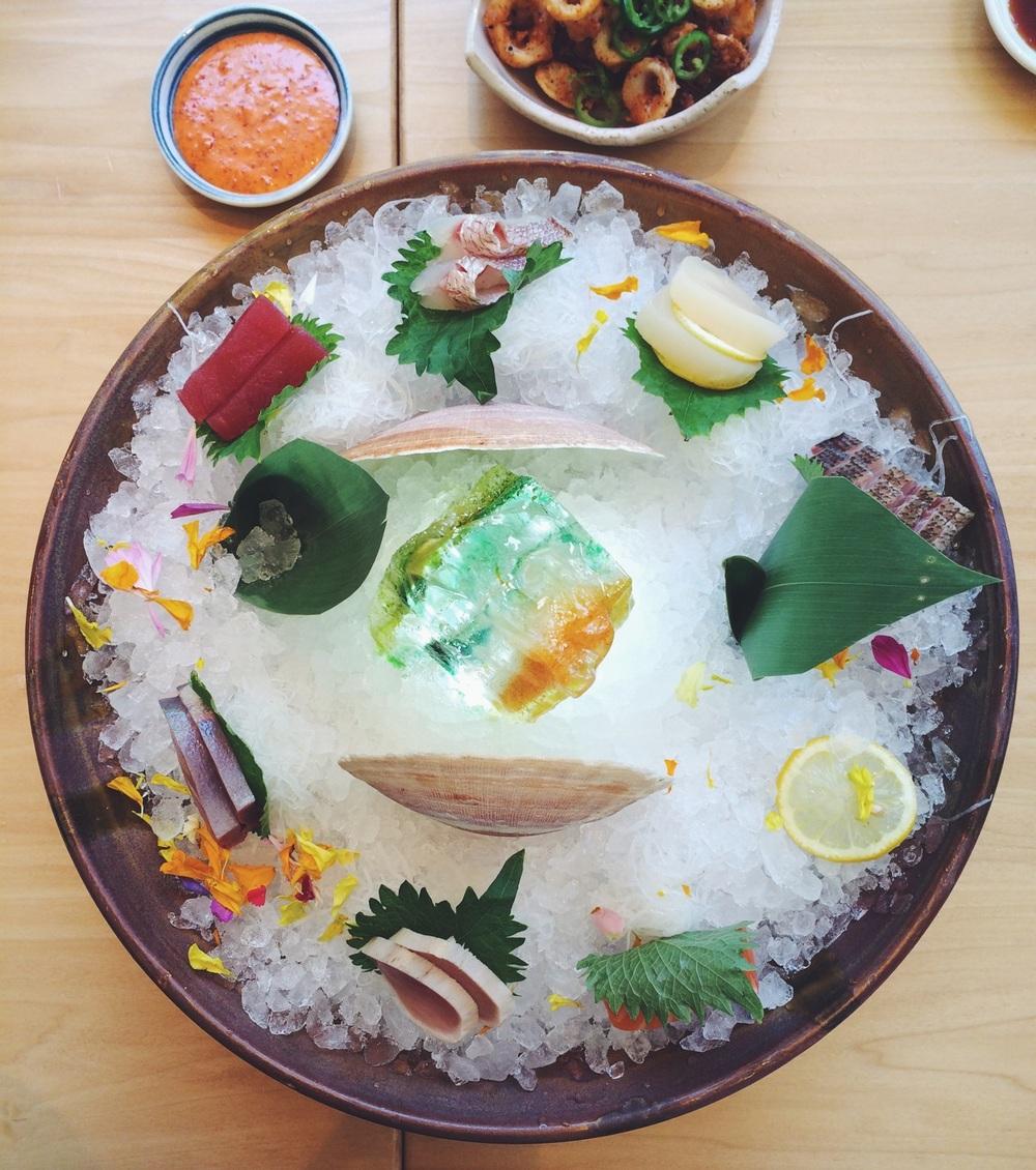 Sashimi Selection - Roka Akor