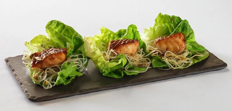 Misoyaki Butterfish Lettuce Wraps