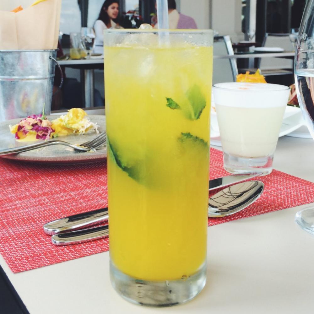 Passion Fruit Cocktail - La Mar SF