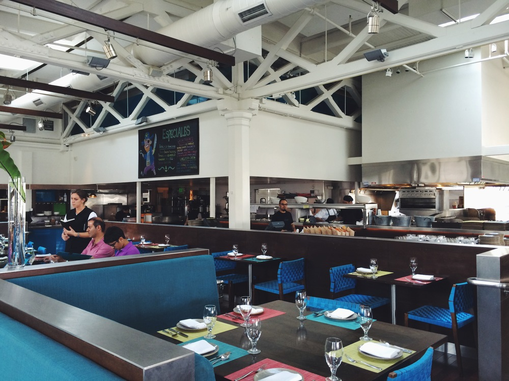 La Mar SF - Inside Dining Room