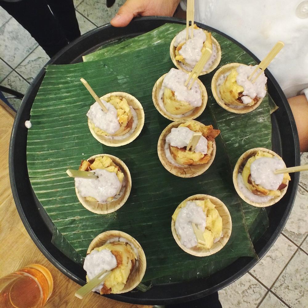 Purple Yam Tapioca with Bread Pudding - Pulmuone