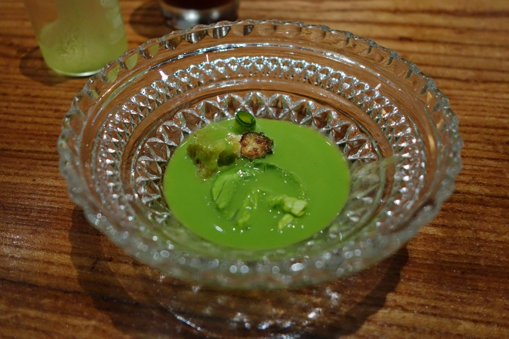 Lazy Bear SF - Chilled Lettuce Soup
